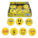 wholesale Toys: Eraser Smile  sorted repeatedly - about 45 mm