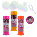 wholesale Toys: Soap bubbles 3-way  sort mi patience - in can