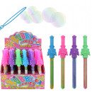 Soap bubble sword 4- times assorted - about 20cm