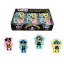 groothandel Stationery & Gifts: Eraser met piraten  motief 4x geassorteerd - ca