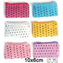 wholesale Wallets: Purse 6 times assorted about 10 x 6 cm