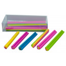 Eraser Mini Snakes 6 pieces - about 60mm