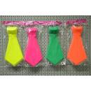 wholesale Toys: Neon colored necktie ca 30cm