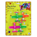 TTC Kids Party Finger Aircraft 4 pieces on card