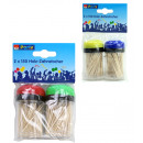 Toothpicks in box  150 pieces - tin ca 8,5x4cm