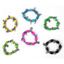 Großhandel Schmuck & Uhren: Armband -  Glasperlenarmband Umfang ca 20 cm