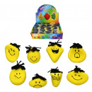Kneaded face Funny Face yellow - 8 times assorted