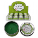 wholesale Candles & Candleholder: Scented candle, Viel Glück , Apple fragrance in ti