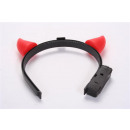 Devil horns red with light battery operated