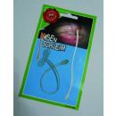 Blague - mucus nasal sur carte environ 15x9x0,5cm