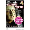 Make up - Zahnschwarz,Zahnlücke,Muttermal auf Kart