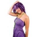 wholesale Costumes:Wig - Metallic purple