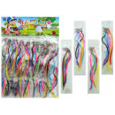 Strands, 6f. . Sort. I bag, colorful, 20 pcs a