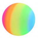 Großhandel Bälle & Schläger:Regenbogenball ca 24 cm