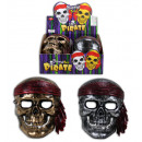wholesale Toys: Mask Pirate 2-fold  assorted for children