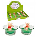 wholesale Candles & Candleholder: Viel Glück Lucky candle 2 times assorted - approx