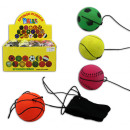 Ball Return Ball 4 pcs assorted colors - about 6cm