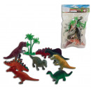 Dinosaur 8 pieces in a bag sorted - approx 12x19