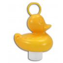 Duck de Duck Pond met gewicht - geel - ca. 8,5x1