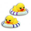 groothandel Sport & Vrije Tijd: Duck - Rubber Duck  2-voudige soort met Schwimmreif