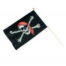 wholesale Fan Merchandise & Souvenirs: Pirate flag about 48 x 31 cm