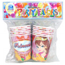 Mug Princess Design 12 pcs in bag