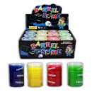 Slime 4-fold assorted - transparent cans approx