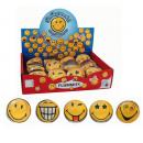 SMILEY WORLD  Flummi Dopsball 4 assortis - ca 3
