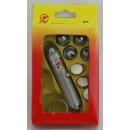Laser ca 6,5 cm silver m 5 attachments