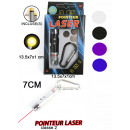 Laserpointer 4  assorted - approx 7cm