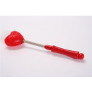 grossiste Articles Cadeaux: Coeur sur Fronde  tige clignotant ca 24 cm