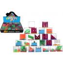 Großhandel Knobelspiele: Geduldspiel 24-fach sortiert ca 4 x 4 x 4 cm
