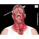 Couteau dans la tête Carte env 38x17