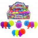 Fluffy-Wurm Raupe mit Licht 4-farbig sortiert - ca