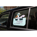 Window Decals  girls, baby on board, - ca 35x2