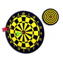 Dartboard with 2 arrows - about 22.5cm