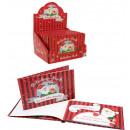 Großhandel Glückwunschkarten:Weihnachtsgutscheinb uch mit 12 Gutscheinen - ca 13