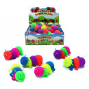 wholesale Toys: Fluffy worm with light assorted several times - ca