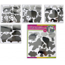 wholesale Wall Tattoos: Mirror sticker sheet ca 30 x 30 cm