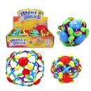 Ball - pop Ball 2-fold assorted - ca 15 cm