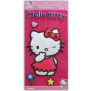 grossiste Cartes de vœux: Hello Kitty murale  3D - à Carte env 57x28,5cm