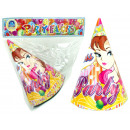 wholesale Toys: Party Hat Princess  Design 12 pieces in bag