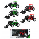 wholesale Models & Vehicles: Tractor 6 assorted ca 17 cm