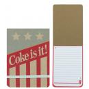 COKE AMERICANA Coca Cola Notepad 50 sheets A6