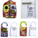 Notebook Door Hanger 2- times assorted TYLER STREE