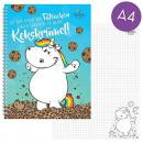 Großhandel Hefte & Blöcke: Pummeleinhorn Collegeblock 'Kekskrümel' A4 ...