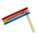 wholesale Wooden Toys: Wooden rattan, colorful ca 13 cm