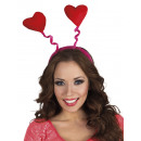Headband with loose heart