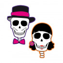 wholesale Pictures & Frames: Wall decoration 'Skull Party' 2- ...