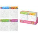 hurtownia Upominki & Artykuly papiernicze: HCM Nosze kolorowanki motywy 4 razy mieszany